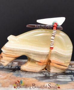 Zuni Fetishes Bear Green Onyx Donovan Laiwakate Native American Art B 1000x1000