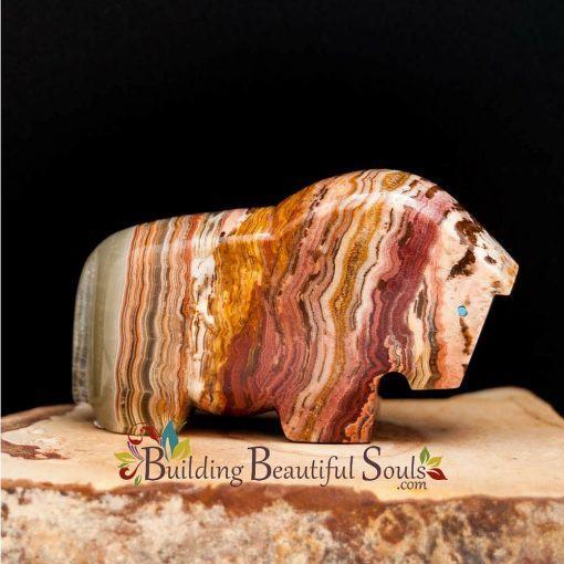Zuni Fetishes Horse Heartline Onyx Abby Panteah Native American Art B 1000x1000