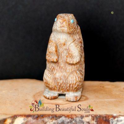 Zuni Fetishes Prairie Dog Picasso Marble Sedrick Banteah Native American Art A 1000x1000