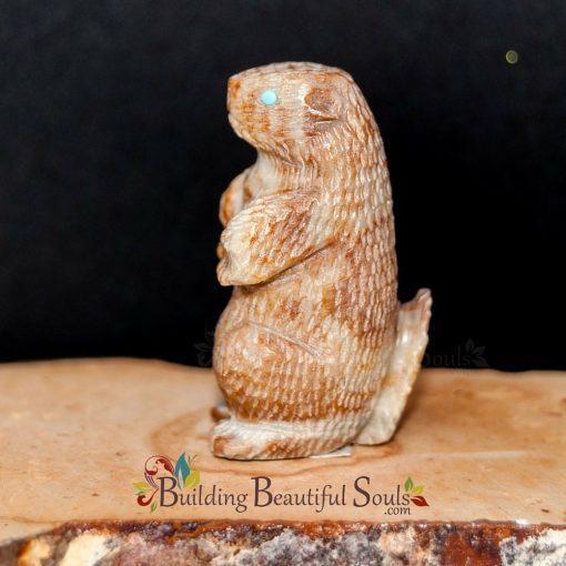 Zuni Fetishes Prairie Dog Picasso Marble Sedrick Banteah Native American Art B 1000x1000