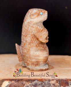 Zuni Fetishes Prairie Dog Picasso Marble Sedrick Banteah Native American Art C 1000x1000