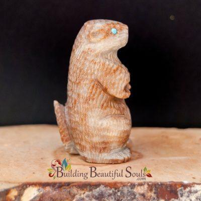 Zuni Fetishes Prairie Dog Picasso Marble Sedrick Banteah Native American Art C