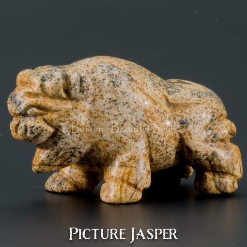 picture jasper buffalo spirit animal carving 1b 1000x1000