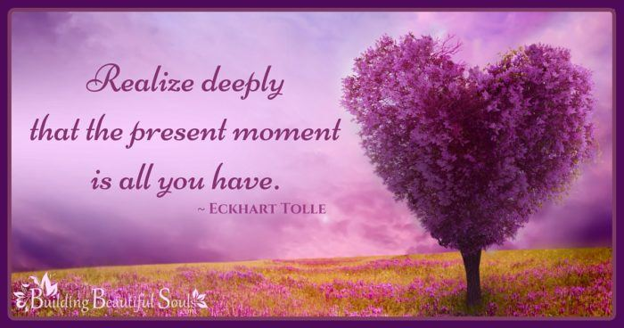 Realize Deeply Present Moment Is All Eckhart Tolle Quotes Mindfulness Quotes 1200x630