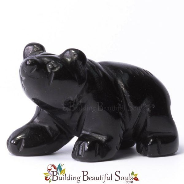 Bear Black Obsidian Spirit Totem Animal Figurine Carving Walking 1000x1000