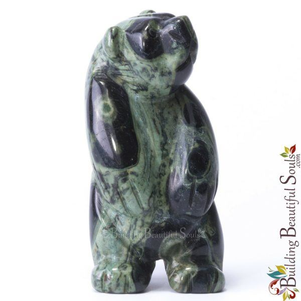 Kambaba Jasper Bear Spirit Totem Animal Figurine Carving 1000x1000