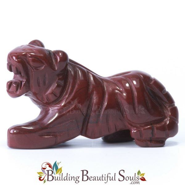 Red Jasper Tiger Spirit Animal Totem Figurine 1000x1000
