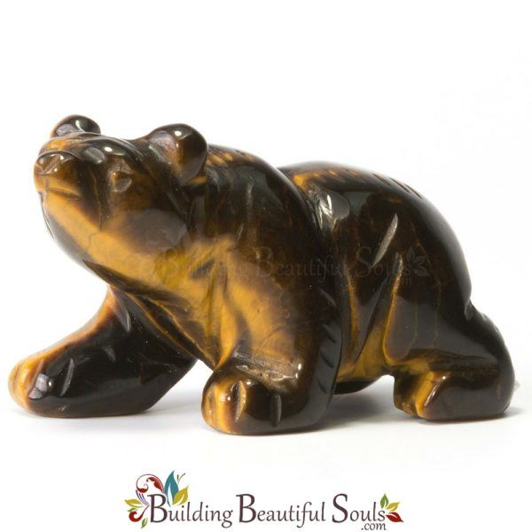 Tiger Eye Bear Spirit Totem Animal Figurine Carving 1000x1000