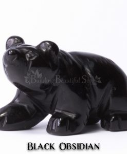 black obsidian bear spirit animal carving walking 1d 1000x1000