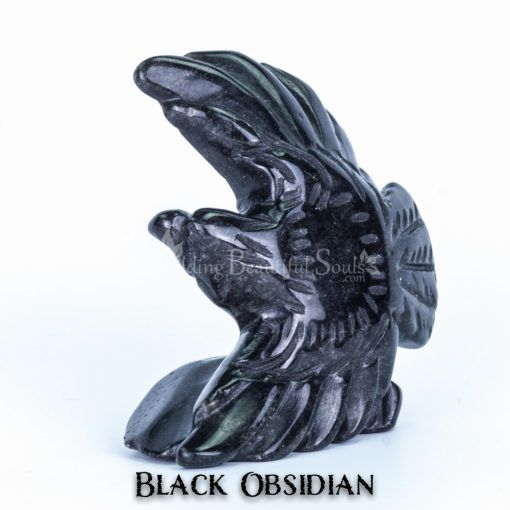 black obsidian eagle spirit animal carving flying 1a 1000x1000
