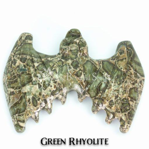 green rhyolite bat spirit animal carving 1a 1000x1000