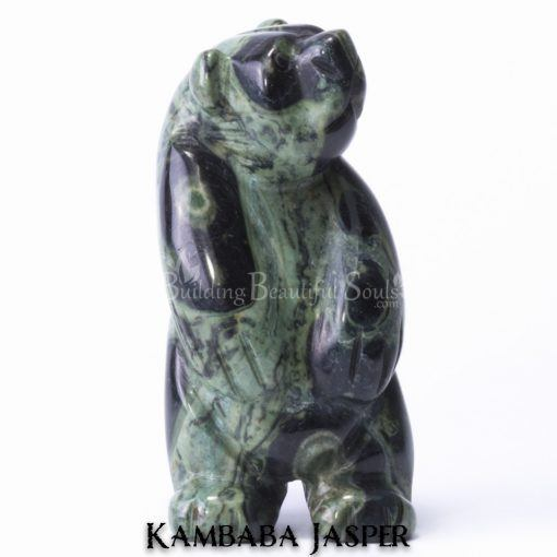 kambaba jasper bear spirit animal carving standing 1b 1000x1000