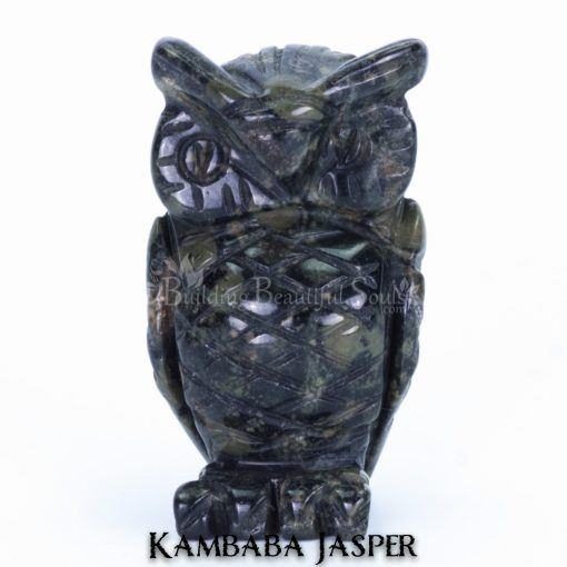 kambaba jasper owl spirit animal carving 1a 1000x1000