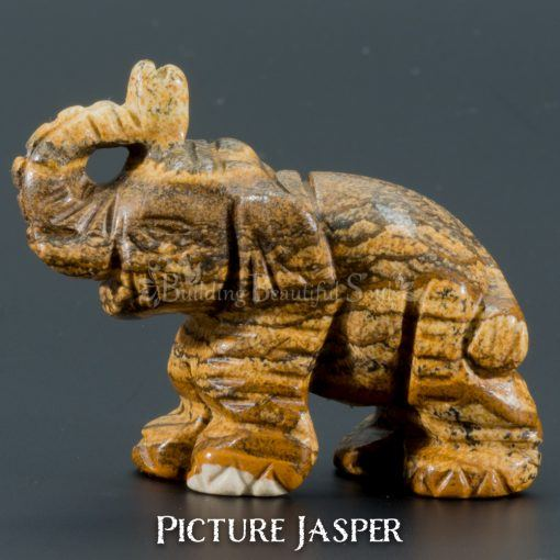 picture jasper elephant spirit animal carving 1a 1000x1000