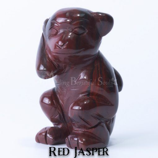 red jasper monkey spirit animal carving 1c 1000x1000