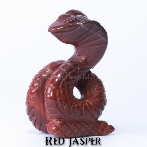 red jasper snake spirit animal carving 1b 1000x1000