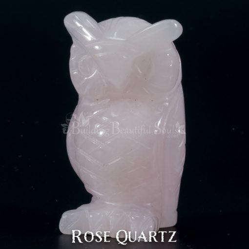 rose quartz owl spirit animal carving 1d 1000x1000