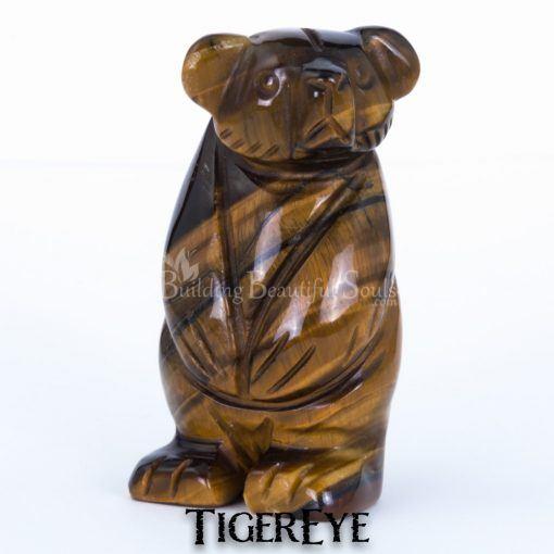 tigereye bear spirit animal carving standing 1e 1000x1000