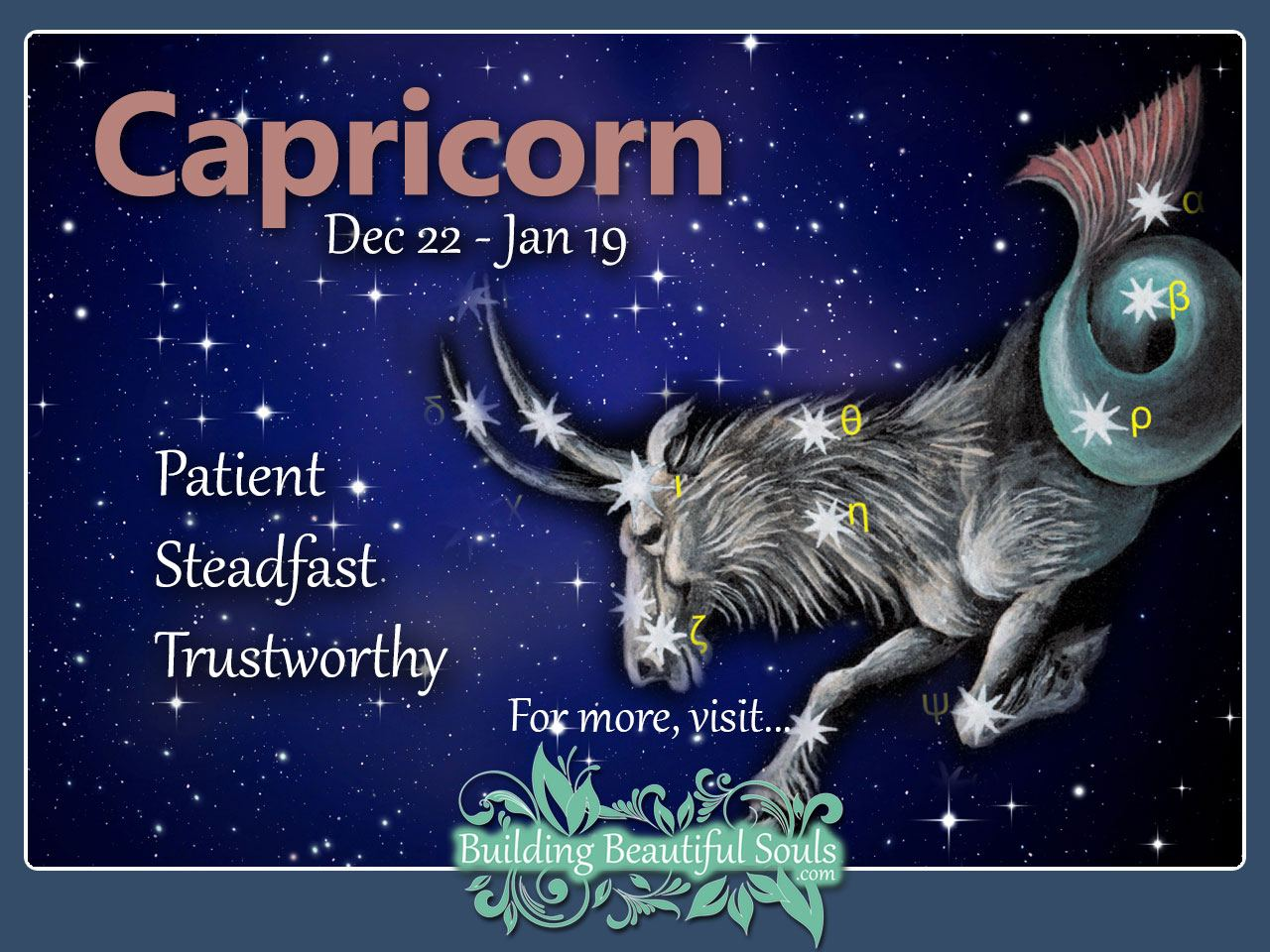 capricorn dating traits