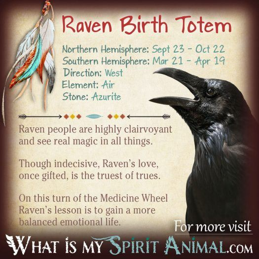Native American Zodiac Raven Birth Totem 1200x1200