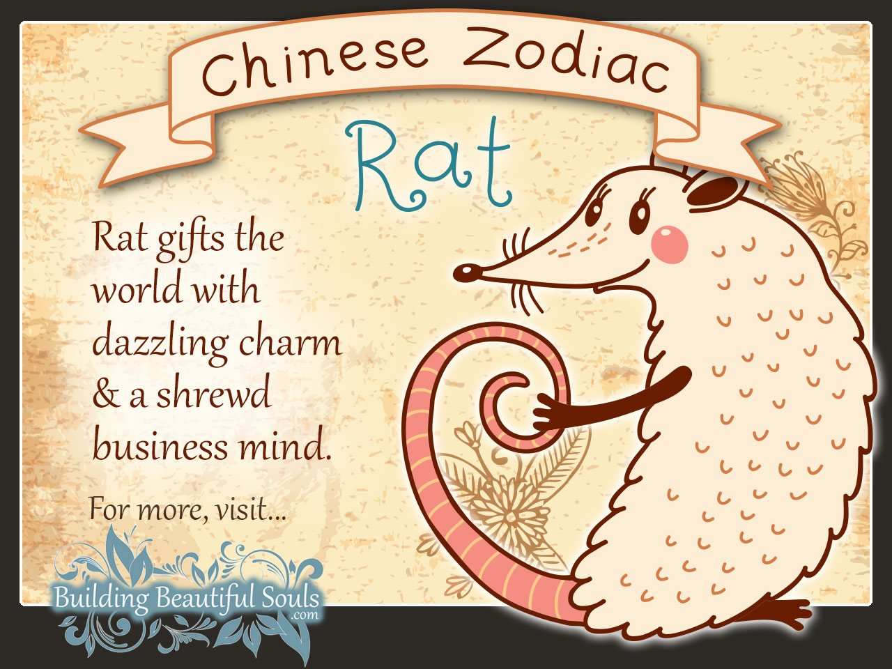 Year of the Rat in Chinese Zodiac for Kids 1280x960