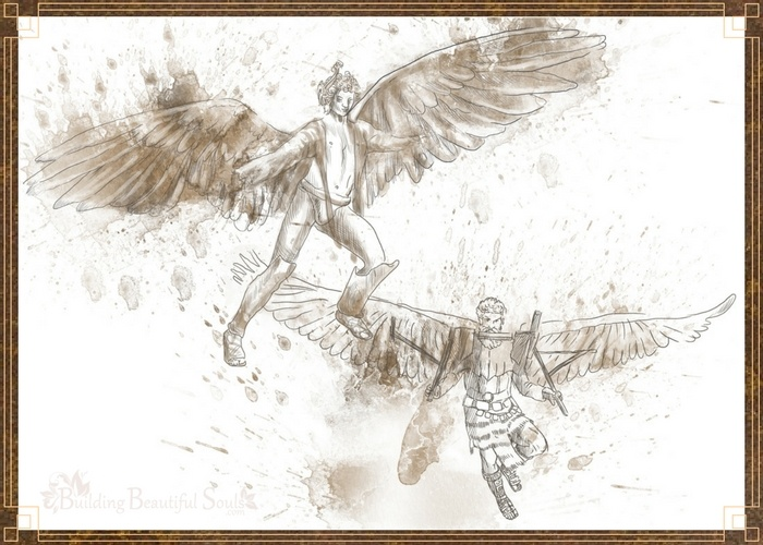 Icarus & Daedalus Flying Dreams 700x500