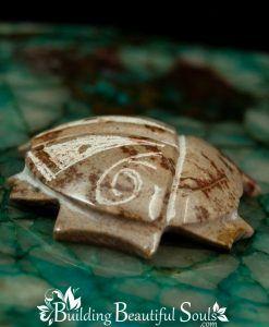 Picasso Marble Beetle Zuni Fetish Shane Calavaza side 1000x1000