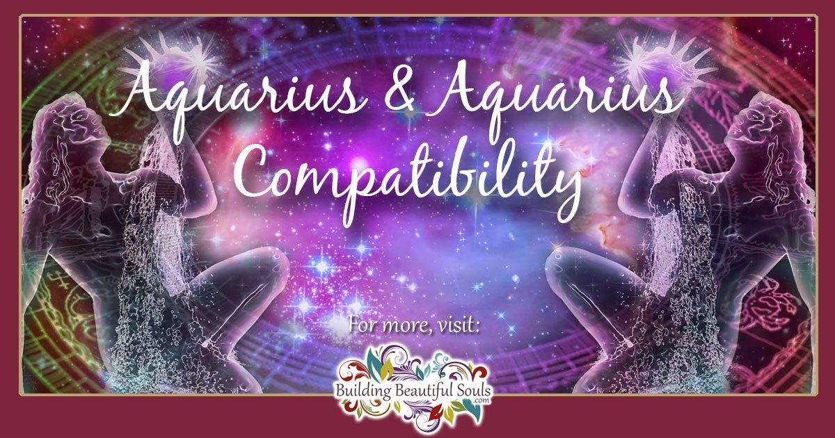 Aquarius and Aquarius Compatibility: Love, Sex, & Friendship