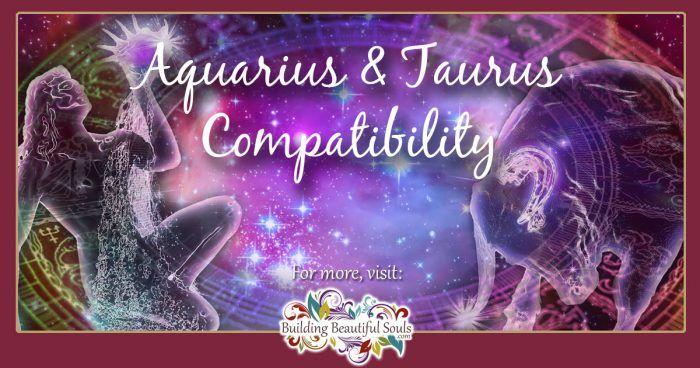 Aquarius and Taurus Compatibility 1200x630