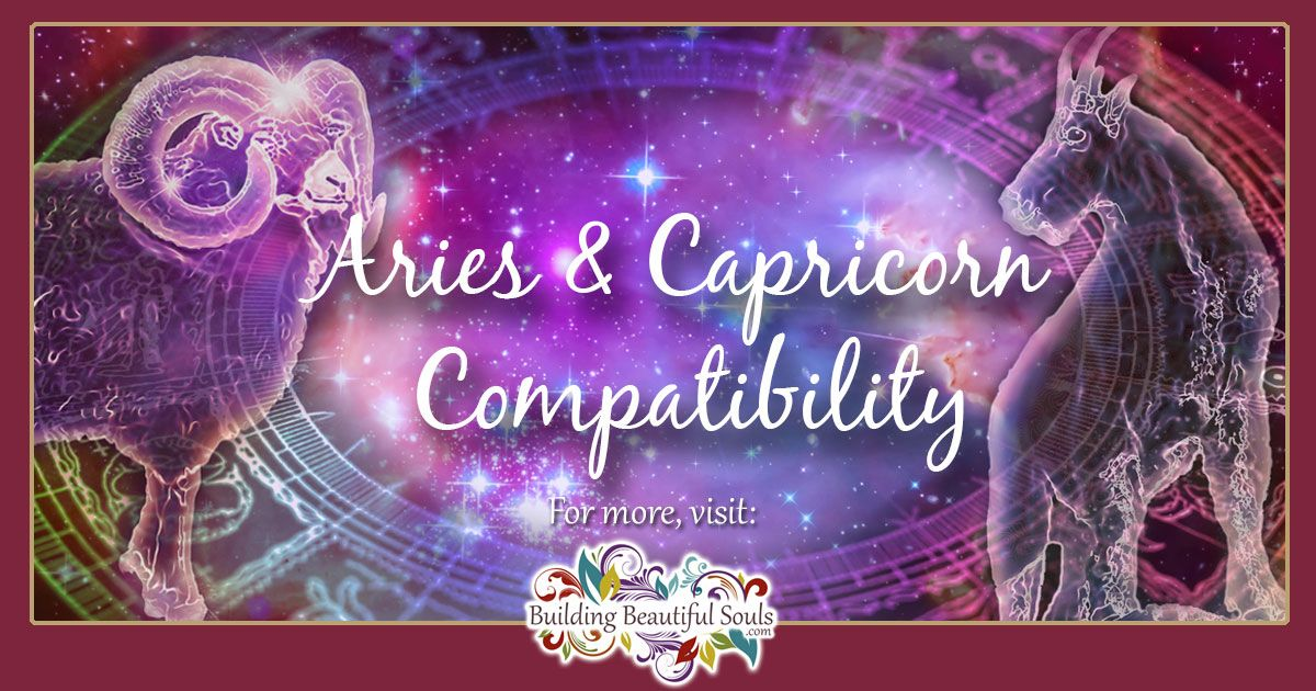 Aries and Capricorn Compatibility: Friendship, Love & Sex