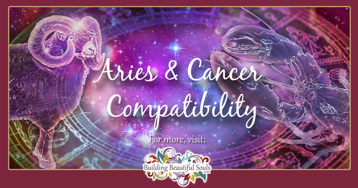 Aries and Cancer Compatibility: Friendship, Love & Sex