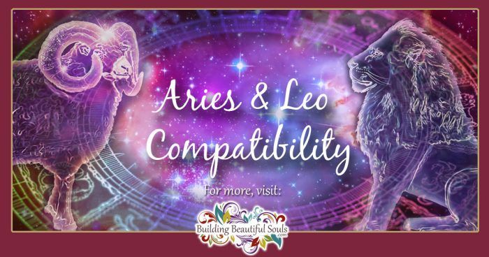 Aries and Leo Compatibility 1200x630
