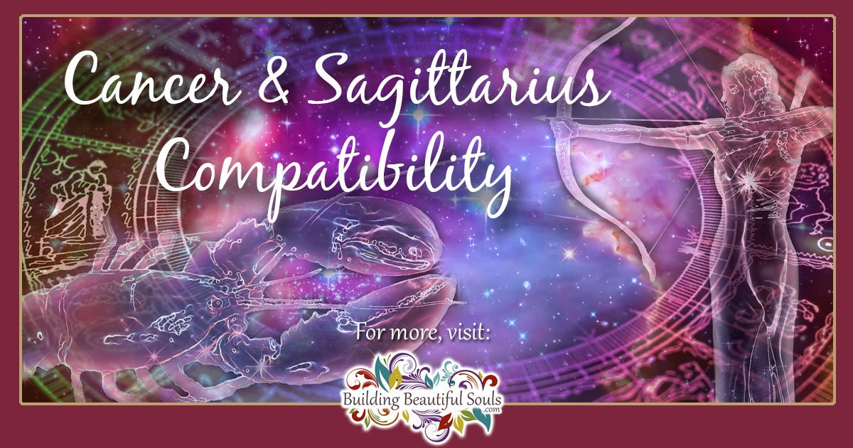Sagittarius and Cancer Compatibility: Friendship, Love & Sex