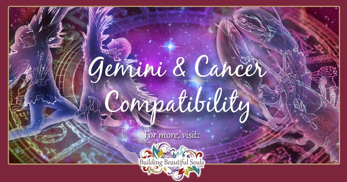 Gemini and Cancer Compatibility: Friendship, Love & Sex