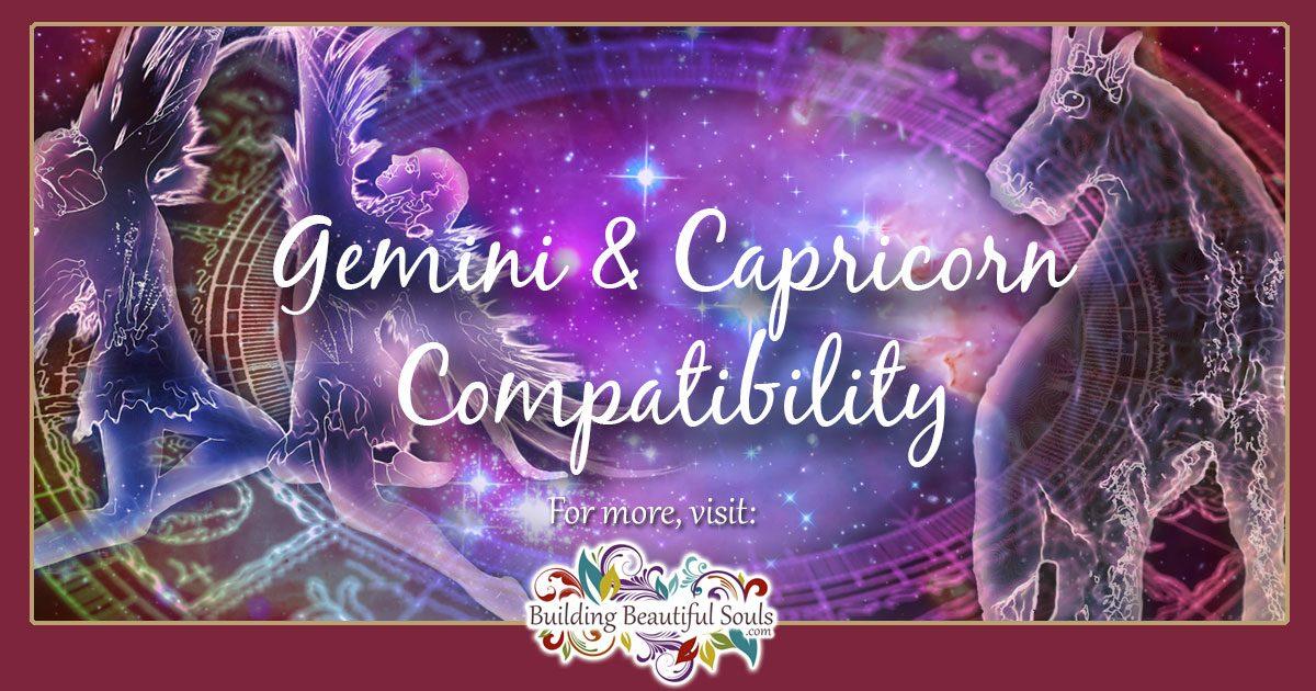 Capricorn and Gemini Compatibility: Friendship, Love & Sex