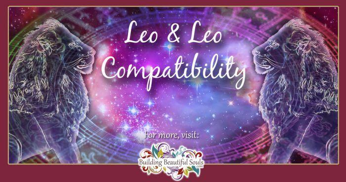 Leo and Leo Compatibility 1200x630
