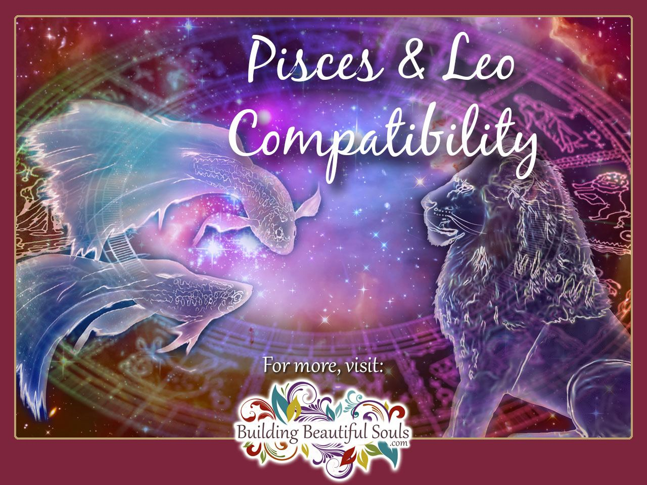 Pisces woman leo man sexually compatible