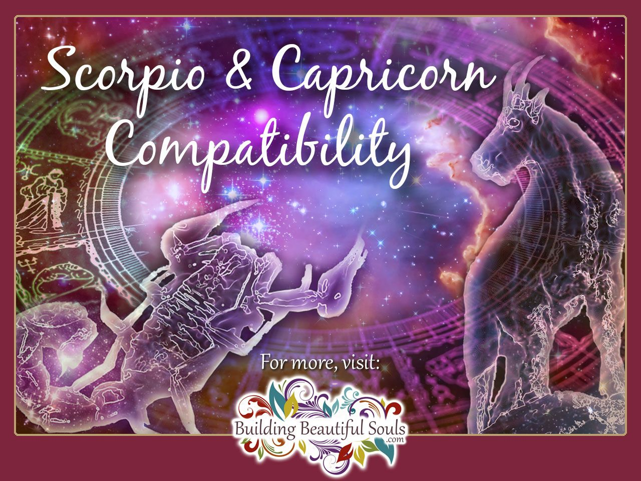 Capricorn and Scorpio Compatibility: Friendship, Love & Sex