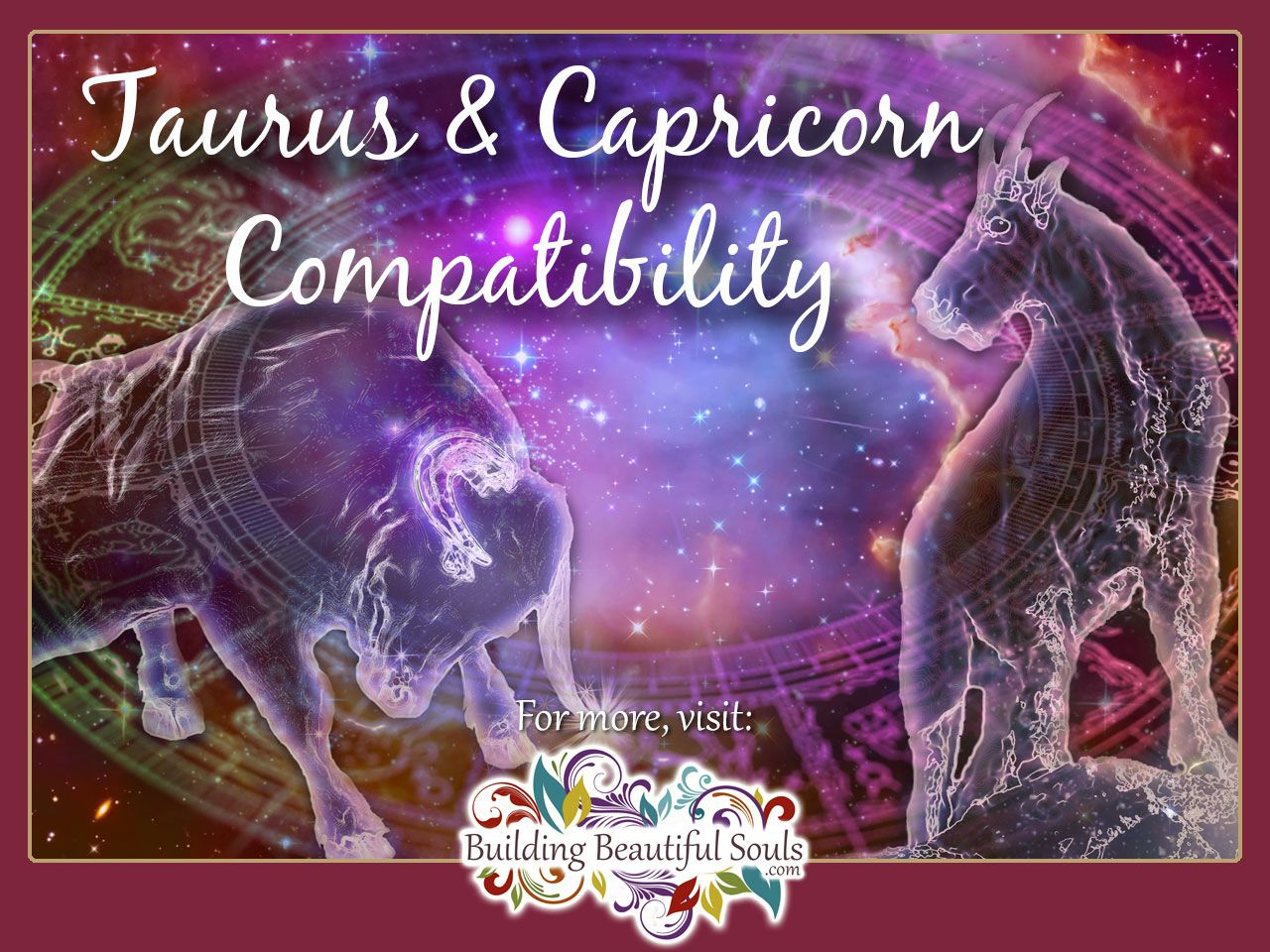 Taurus and Capricorn 1280x960
