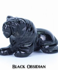 black obsidian lion spirit animal carving 1a 1000x1000