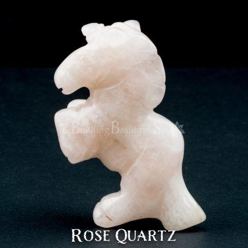 rose quartz unicorn spirit animal carving 1b 1000x1000
