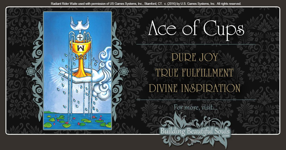 The Ace of Cups Tarot Card Meanings 1200x630