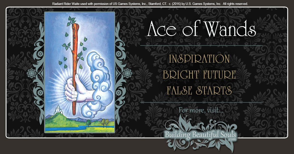 The Ace of Wands Tarot Card Meanings 1200x630