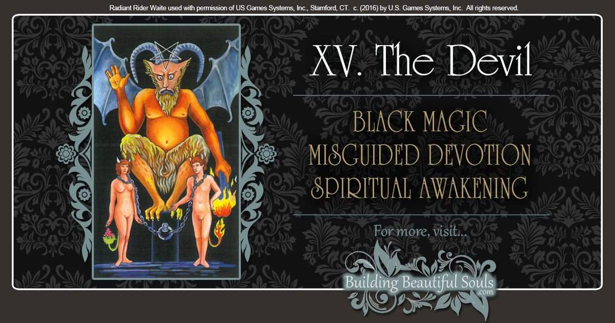 The Devil Tarot Card Meanings 1200x630