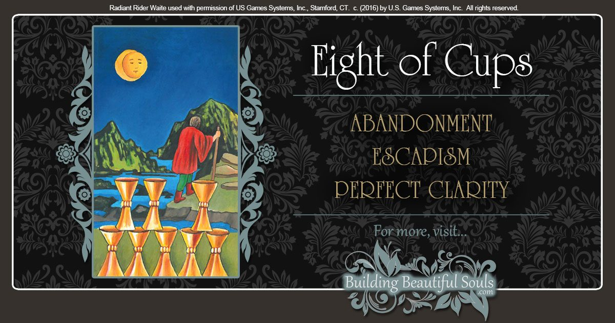 The Eight of Cups Tarot Card Meanings 1200x630