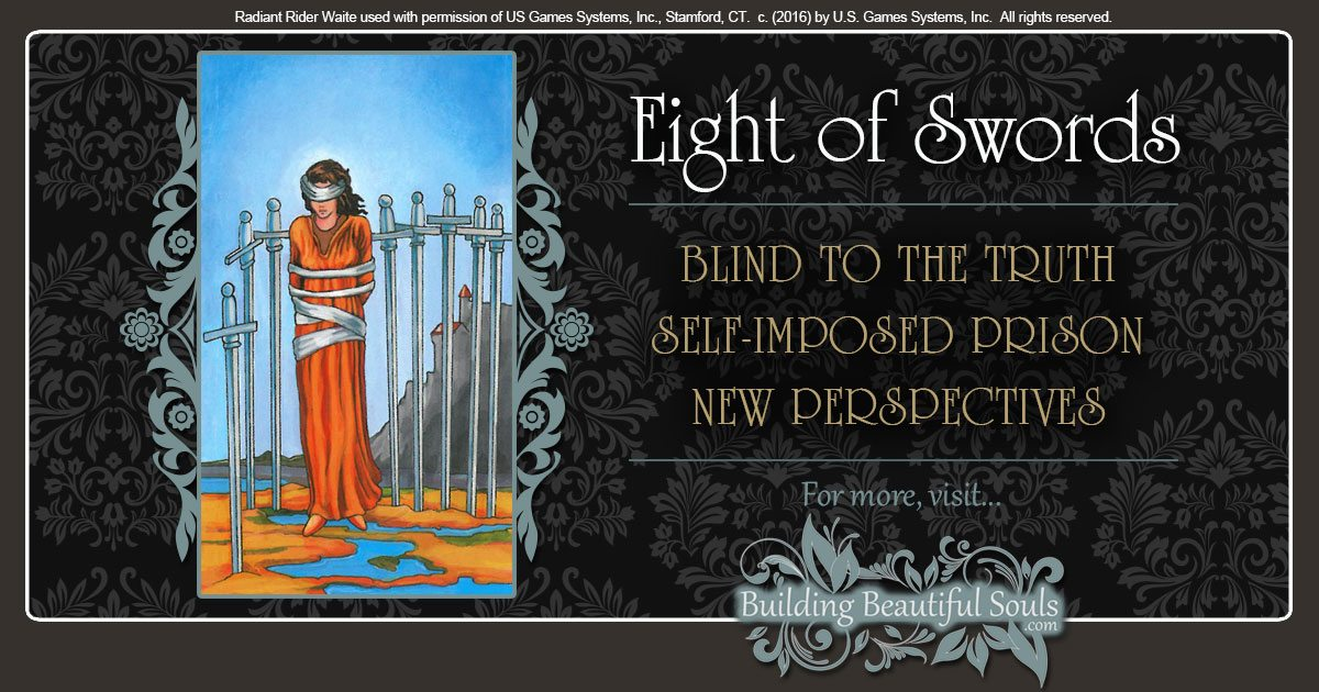 The Eight of Swords Tarot Card Meanings 1200x630