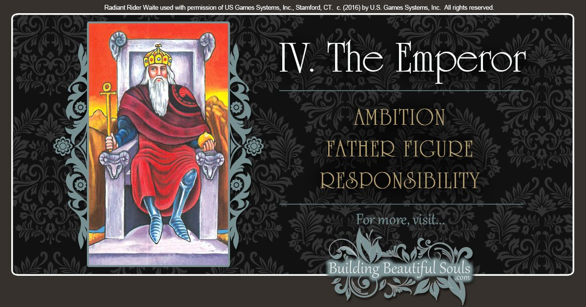 Emperor Tarot Card Meanings