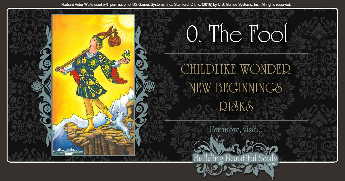 The Fool Tarot Card Meanings 1200x630