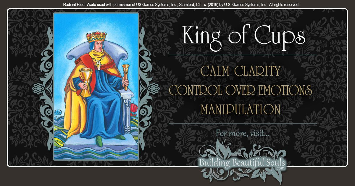 The King Of Cups Tarot Card Meanings Tarot Reading