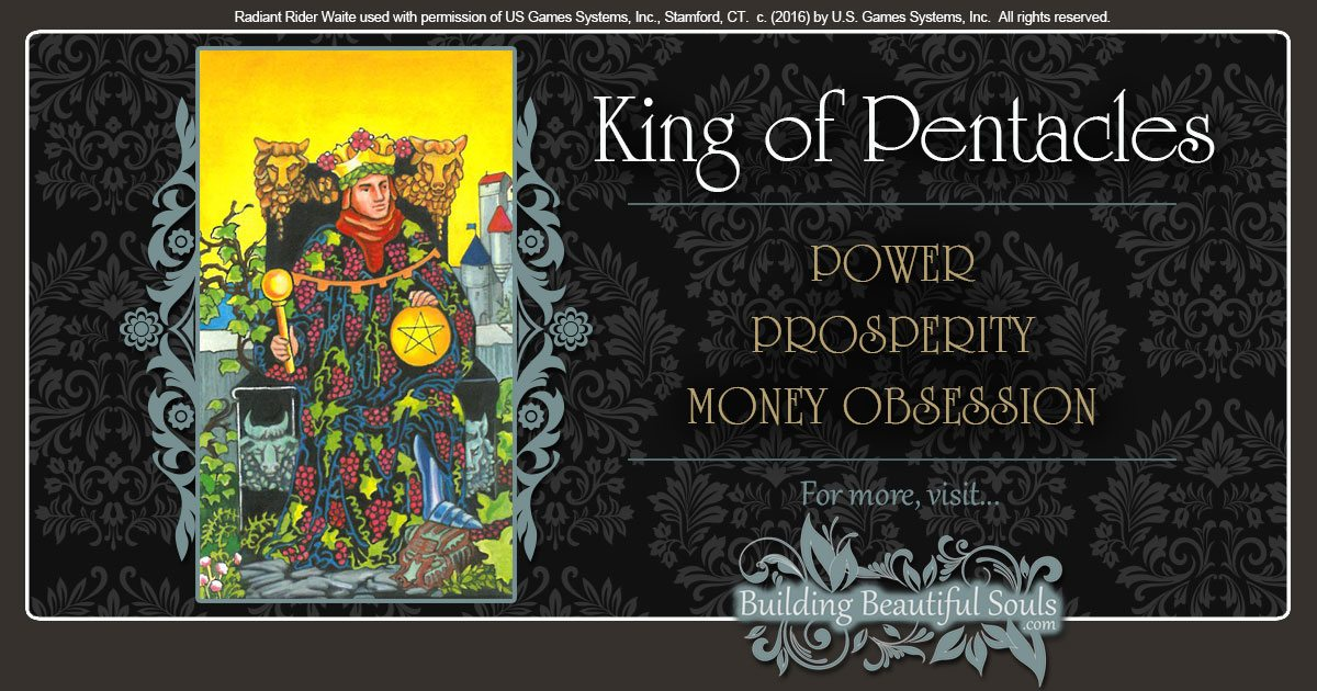 The King of Pentacles Tarot Card Meanings | Tarot Reading